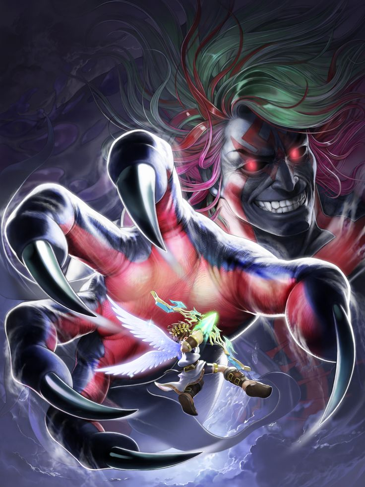 Hades vs Pit - Kid Icarus Uprising