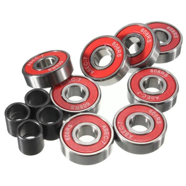 8pcs 8x22x7mm ABEC 7 Groove Ball Bearings Skateboard Bearings  Worldwide delivery. Original best quality product for 70% of it's real price. Buying this product is extra profitable, because we have good production source. 1 day products dispatch from warehouse. Fast & reliable shipment...