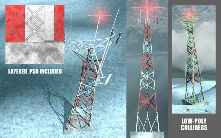 Detailed Radio Tower