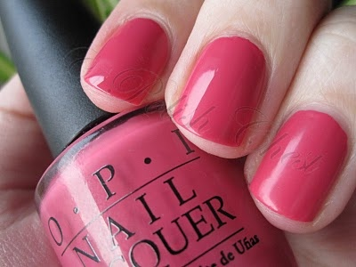 OPI - Party in My Cabana- pink, melon-ish creme