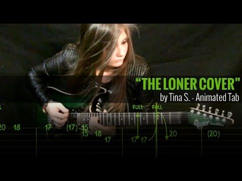 GARY MOORE - THE LONER - Animated Tab - YouTube
