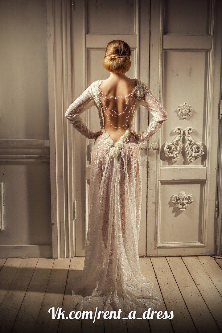 светлые свадебные/вечерние платья | 80 фотографий