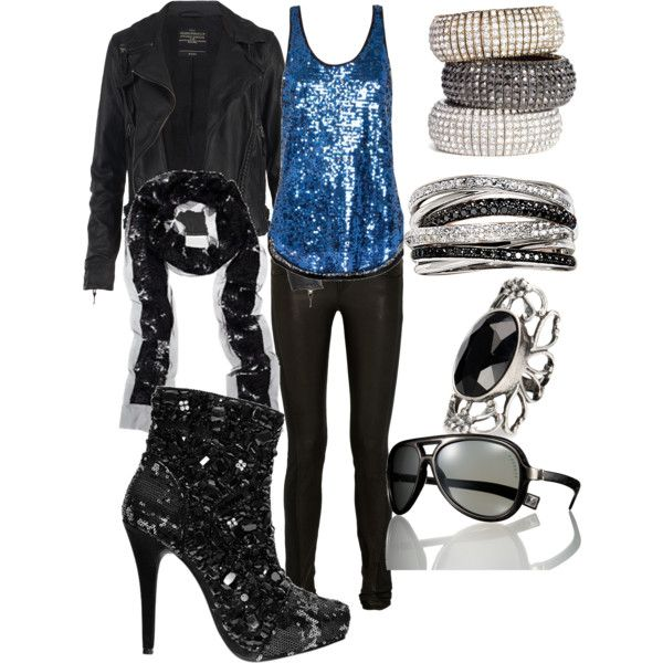 wear something like this to Rock of Ages :)