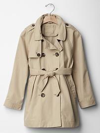Trench coat @ Gap