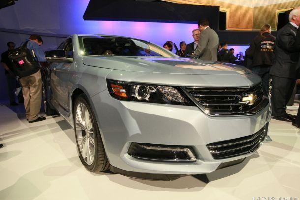 2014 Chevrolet Impala gallops into the New York auto show | The Car Tech blog - CNET Reviews