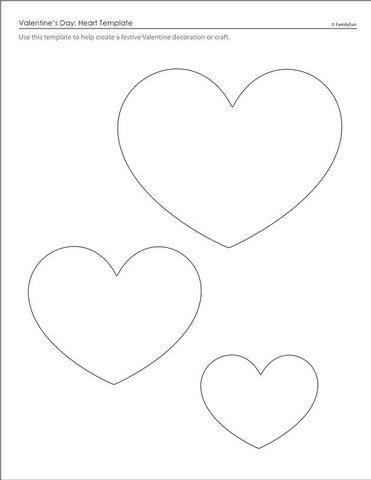 Corações molde