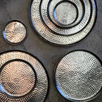 Homewares. Metal Platter. Minta & Co Shop