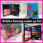 Golden Beauty Makeup Kit ( Eyeshadow  Lipstick  Bedak )