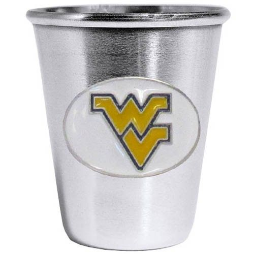 "Checkout our #LicensedGear products FREE SHIPPING + 10% OFF Coupon Code ""Official"" W. Virginia Mountaineers Steel Shot Glass - Officially licensed College product 2 ounce capacity Stainless steel collector's glass Great gift for a true fan Shot GlassW. Virginia Mountaineers with enameled detail - Price: $15.00. Buy now at https://officiallylicensedgear.com/w-virginia-mountaineers-steel-shot-glass-css60"