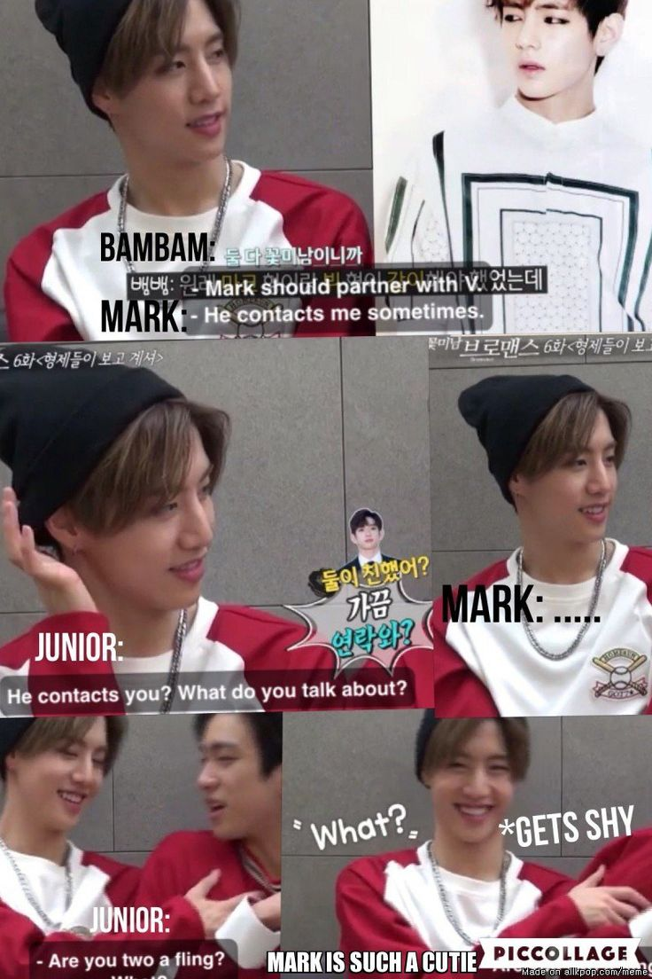 GOT7 & BTS: MARK & V SHIP SAILING~~   allkpop Meme Center
