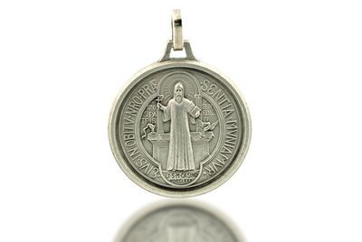 Deluxe Large St Benedict Medal for Necklace