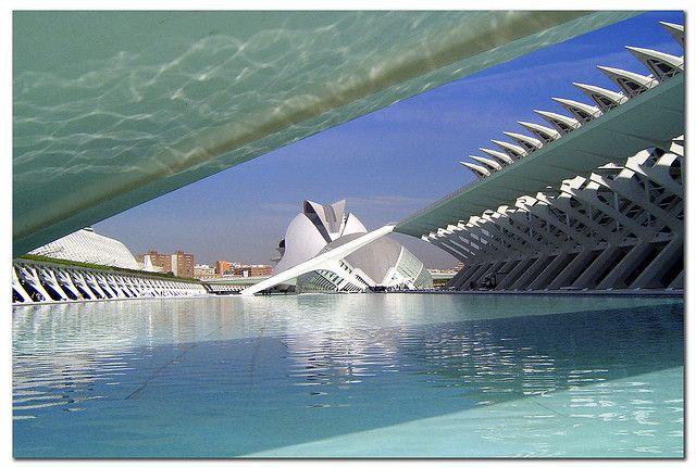 Valencia, day, Santiago Calatrava
