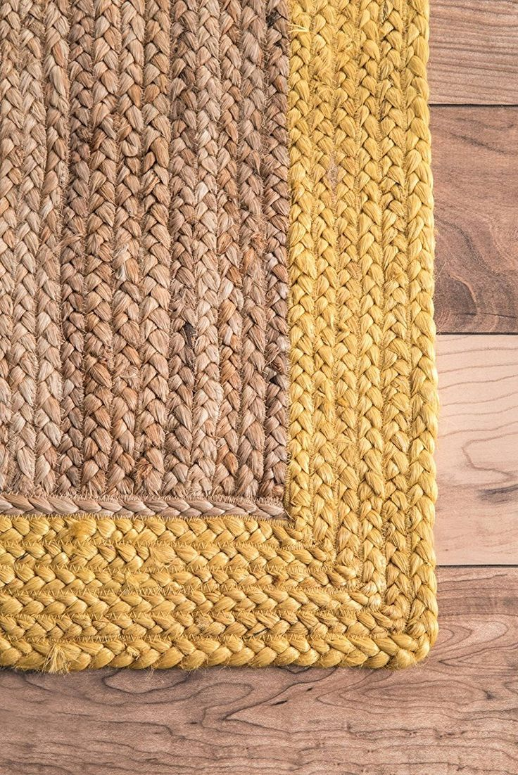 nuLOOM Natural Fibers Rugs Gold