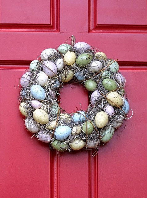 Easter wreath - photo by Twiddletails