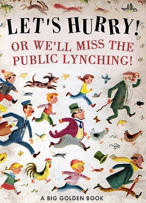 Bad children's book! Bad! — Lost At E Minor  ~Alright, not children's books any more, but funny.  Sick and disturbing, but very funny...~