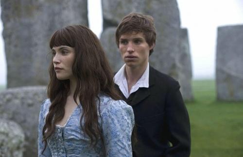 Gemma Arterton as Tess Durbeyfield andEddie Redmayne as Angel Clare inTess of the D'Urbervilles (TV Mini-Series, 2008).