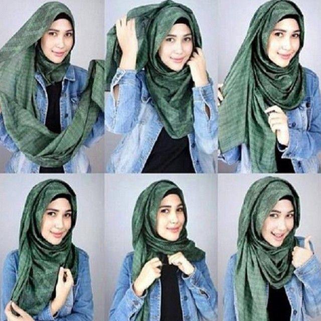tutorial hijab by mayra model terbaru mudah banget