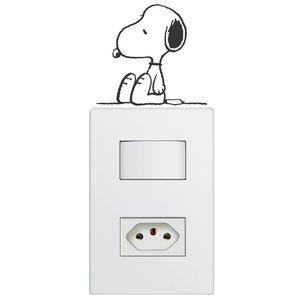 Adesivo Interruptor Infantil - Snoopy 2