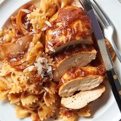 Slow-cooked balsamic chicken breasts are so easy and delicious they're bound to become a family favorite.