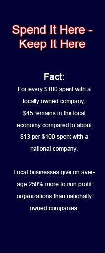 Buying your products and services locally is a very important thing to do for your local economy!!! Your local business owners need you!