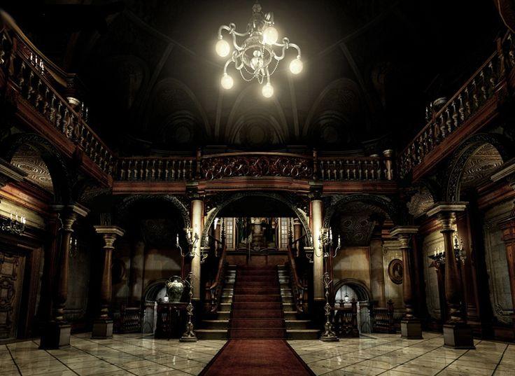 resident evil mansion - Google Search