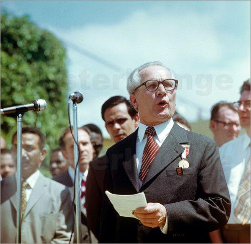 Klaus Morgenstern - Staatsbesuch Erich Honecker 1974 in Kuba / Cuba - Rede