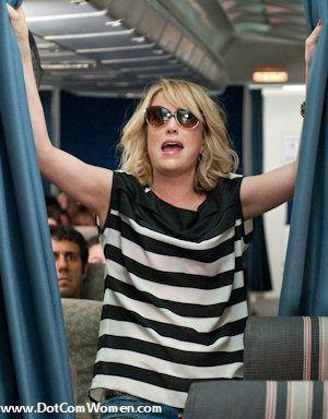 Kristen Wiig's stripey top in Bridesmaids