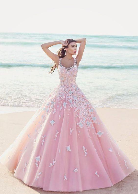 Vestidos de xv años estilo princesa (6)   Ideas para Fiestas de quinceañera - Decórala tu misma