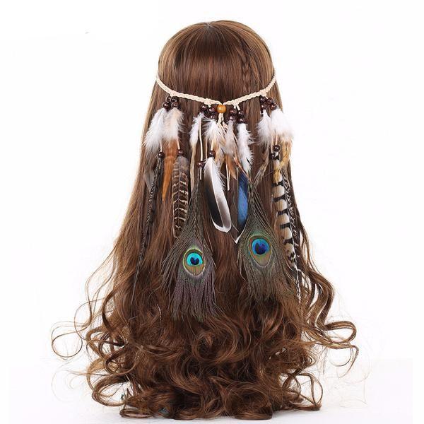 Headband Tribal Feathers