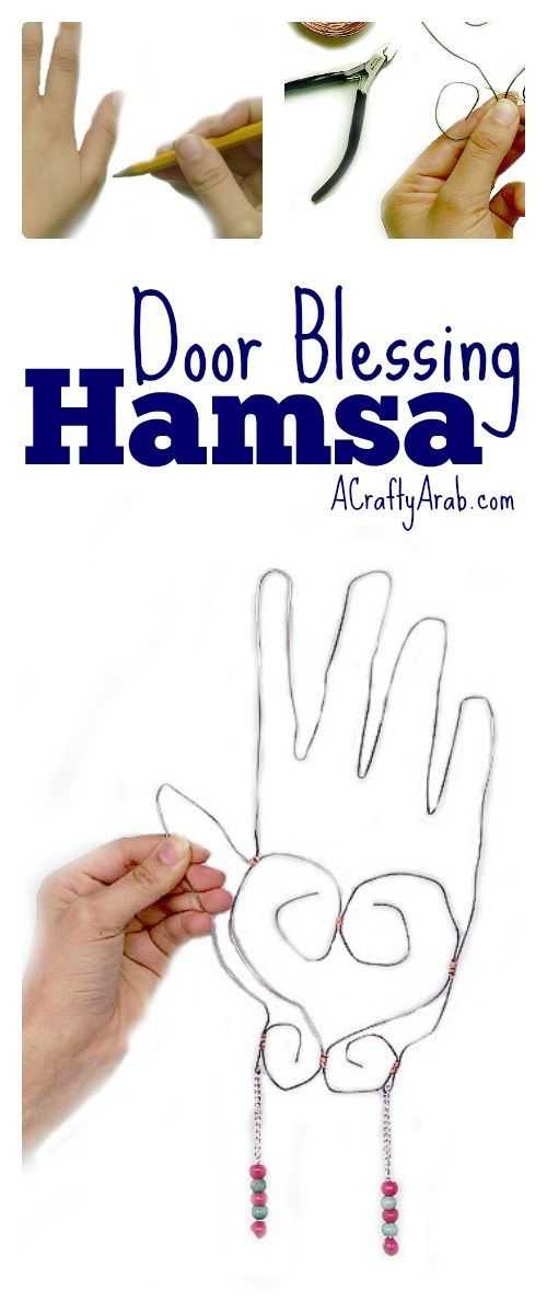 A Crafty Arab: Door Blessing Hamsa {Tutorial}. The hamsa is a palm shaped talisman, or amulet, thought to protect against the evil eye. It can be found through out the Arab world that is in North Africa and the Middle East. Used as a sign of protection, it can be found on all the shores of the Mediterranean Sea, from Spain to …