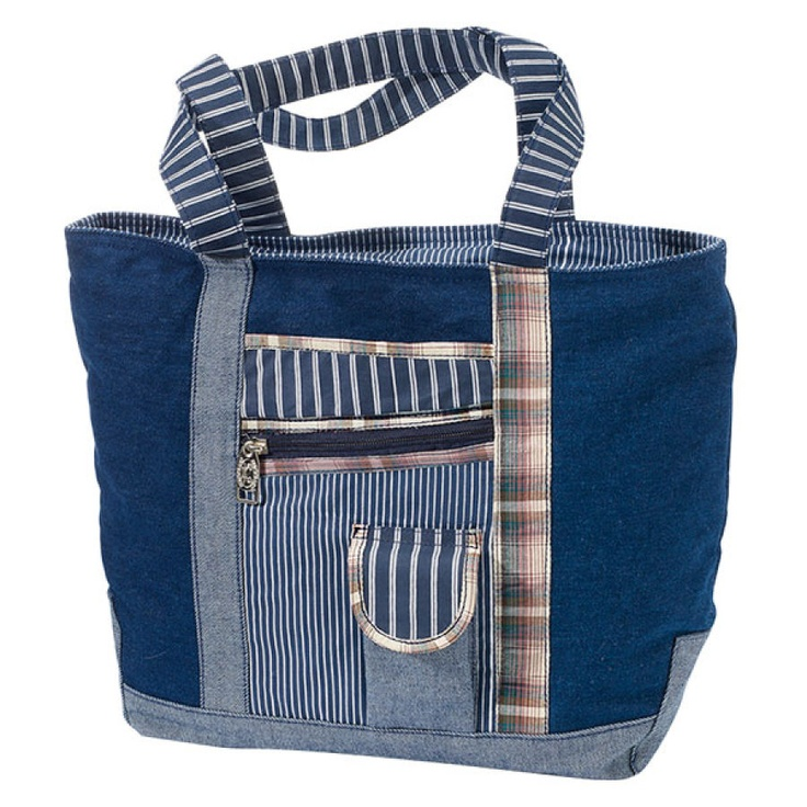 Denim Patch Tote