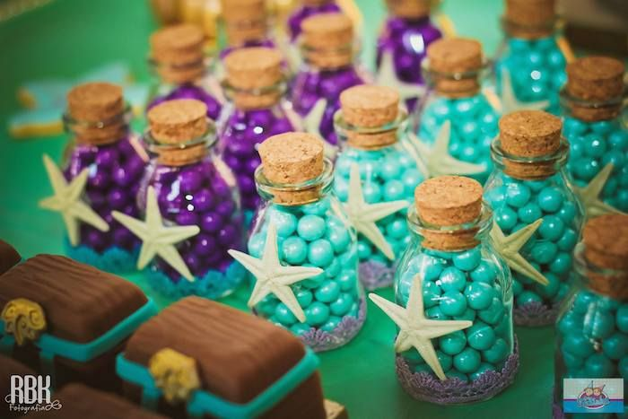 little mermaid bridal shower | Little Mermaid Birthday Party
