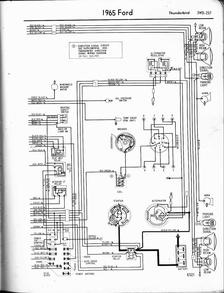 Dodge Ram 2007 Starting Wiring Diagrams In 2020 Diagram Ford Thunderbird Ford