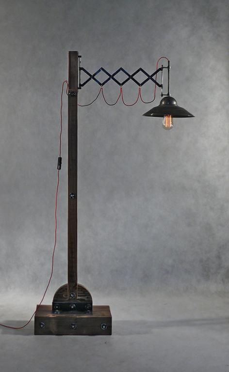 VINTAGE INDUSTRIAL DESIGN-LAMPA PODŁOGOWA