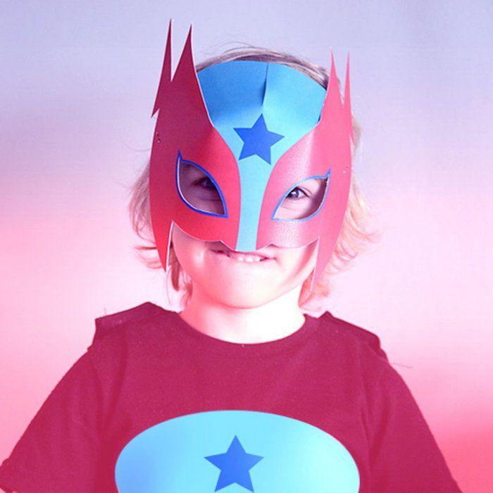 Masques de super-héros à imprimer - Marie Claire Idées