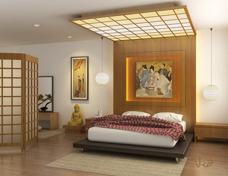 Japanese Bedroom Interior Designs Offers A More Selection Of Themes And The  Beauty Of The Interior And Layout Of Furniture In The Bedroom. Bedroom ... Part 16