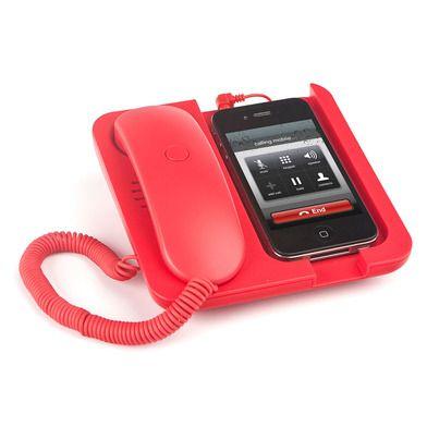 BALVI BLV24960 Retro Telefon Ahizesi Standlı Kırmızı :: DEVesnaf