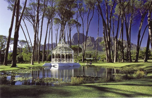 beautiful gardens and ponds