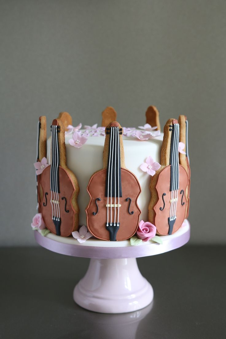 Top 25 Best Violin Cake Ideas On Pinterest Awesome Wm