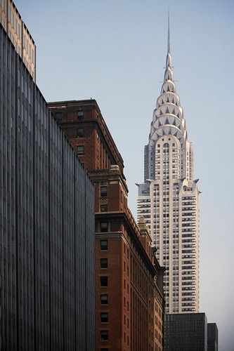 17 best ideas about chrysler building on pinterest new for Chrysler building ceiling mural