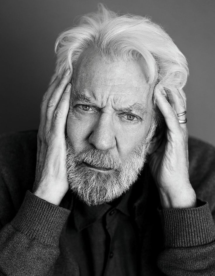 Donald Sutherland (1935) - Canadian actor. Photo by Rene & Radka