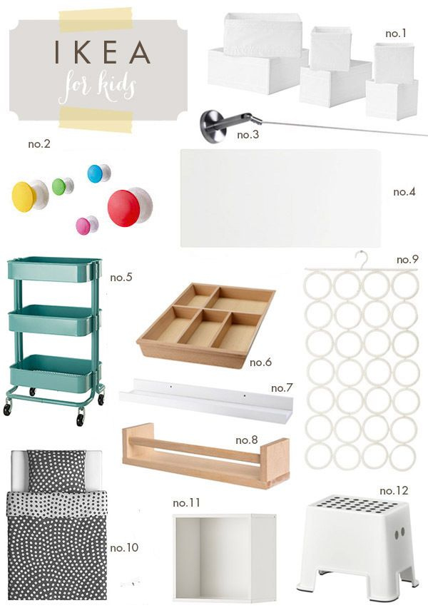 Ikea-for-Kids -- awesome products that you might not have considered using for kids' rooms