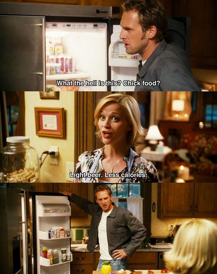 Chick food ~ Sweet Home Alabama (2002) ~ Movie Quotes #amusementphile