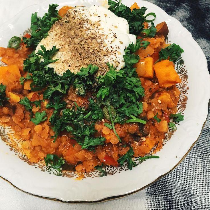 Recept: Marokkaanse stoofpot met linzen & sinaasappel | IKBENIRISNIET