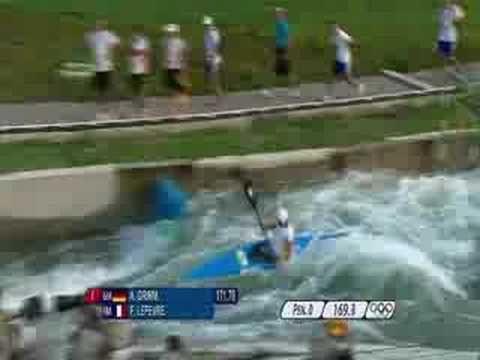Canoe/Kayak - Men's K1 Slalom - Beijing 2008 Summer Olympic Games