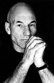 Patrick Stewart---beautiful inside and out. I think that makes him far more beautiful than any others on this board.