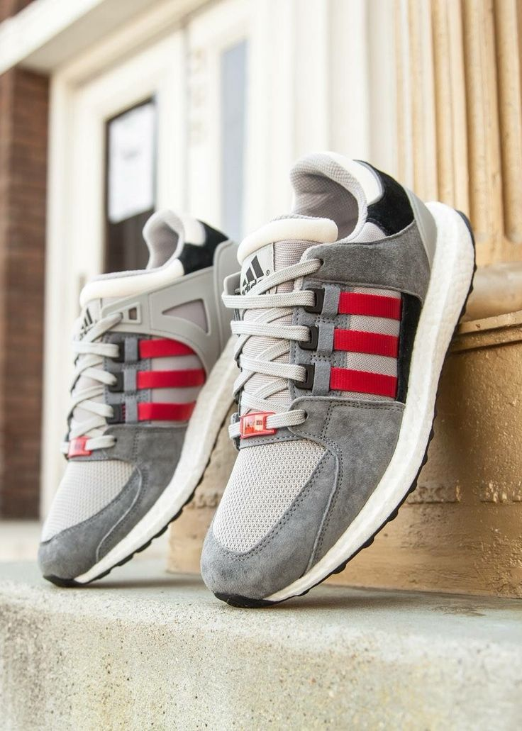 best website 1a4ce bab27 Adidas Originals EQT Support 93   16 Concepts Boost All Black Men s Women s  Shoes
