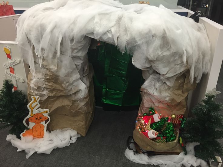 Cubical Contest Christmas Grinch How The Grinch Stole