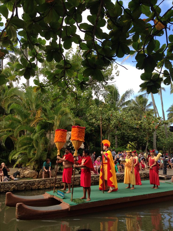 Polynesian cultural center Hawaii