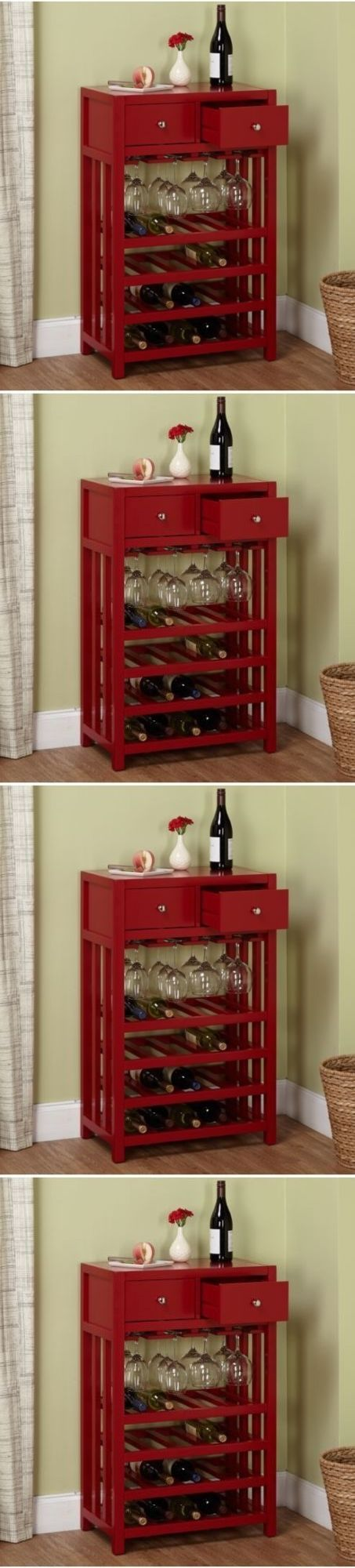 Wine Glass Holders 159901: Wine Glass Rack Under Cabinet Storage 20 Bottle Wine Tower Stemware Holder Wood -> BUY IT NOW ONLY: $161.99 on eBay!